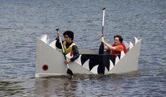 free cardboard boat designs | Description Cardboard boats 38.png                                                                                                                                                     More