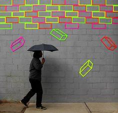 #tape #wall