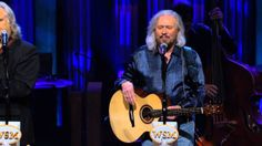 """Barry Gibb and Ricky Skaggs - """"When The Roses Bloom Again"""" Live at the G..."""