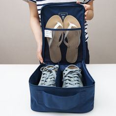 Home use shoe storage box pouch lightweight Traveling Storage Organizer for shoes waterproof storage shoes box #Affiliate