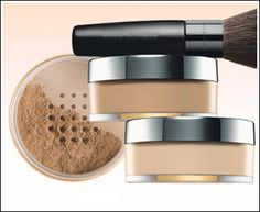 Mary Kay Mineral Powder....I love this stuff!   I was using the press powder and now I am hooked on the Mineral powder!  : )