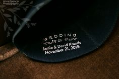 Yarmulke Yamaka Kippah Custom Blue Velvet With Names And Date In Silver For A