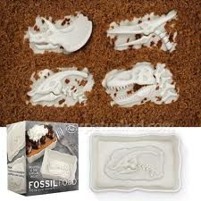 Fossil Food Cupcake Moulds
