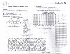 O trabalho é feito com fio duplo   Material   2 cones de Barbante São Joaõ Esmeralda 8/4   agulha para croche numero 3mm             ...