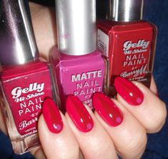 Nailpolis Museum of Nail Art | Red and Pink by MyMintNails