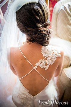 This is the most beautiful back of a dress I have seen