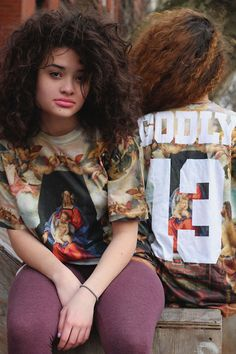 """Stada &Brandonpresent the """"Godly New York S/S 13' Collection""""Includes the """" All Over Print Jersey Tee, All Over Print Tee, Godly Snapback, White On Pink Godly Beanie, 30"""" Thick Cuban Link Chain & Bringing Back The Gold On Black Godly Beanie. """""""
