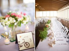 bycicle wedding | Romantic Bicycle-Themed Wedding - Something Pretty