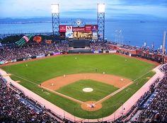 ATandT Park, San Francisco, California. My favorite baseball stadium.