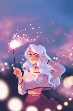 Cute Girl Drawing, Cartoon Girl Drawing, Girl Cartoon, Cute Drawings, Girl Drawings, Cute Art Styles, Cartoon Art Styles, Cartoon Ideas, Witch Art