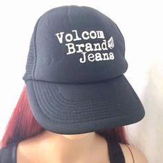 Volcom Brand Jeans OTTO Trucker SnapBack Hat    eBay