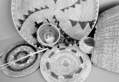 Ohlone basket weaving.