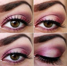 Tip: Sweep a dollop of highlighter or a tint of the hue used in the middle of the lid. Gorgeous tone for hazel or brown eyes.