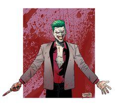 Suicide Squad - Joker by DiegoOlortegui on DeviantArt Harley Quinn Et Le Joker, Le Joker Batman, Batman Stuff, Art Du Joker, The Man Who Laughs, Batman Universe, Dc Universe, Art Station, Fan Art