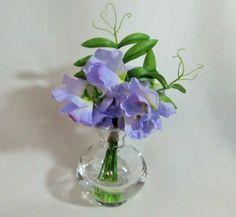 April Birth Month Sweet Pea Flower