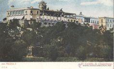 MEXICO D.F. EL CASTILLO DE CHAPULTEPEC. POSTAL COLOR, SIN CIRCULAR, C. 1910 (Postales - Postales Extranjero - América - México)