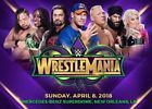 2 Floor Tickets to WWE WRESTLEMANIA 34 Section A Row 8 Ringside Floor