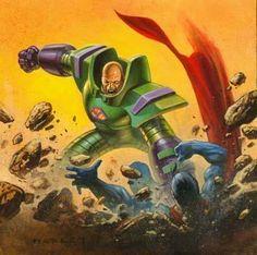 Lex Luthor vs Superman by Alex Horley Lex Luthor, Man Of Steel, Dark Horse, Dc Universe, Marvel Dc, Superman, Comic Art, Science Fiction, Dc Comics