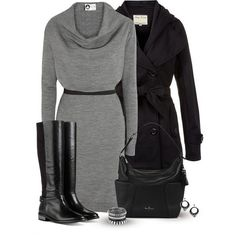 Ideas de outfits: color clave - el gris...