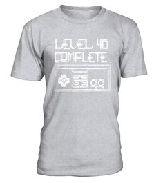 "# Level 40 Complete Video Games 40th Birthday T-Shirt .  Special Offer, not available in shops      Comes in a variety of styles and colours      Buy yours now before it is too late!      Secured payment via Visa / Mastercard / Amex / PayPal      How to place an order            Choose the model from the drop-down menu      Click on ""Buy it now""      Choose the size and the quantity      Add your delivery address and bank details      And that's it!      Tags: A perfect way for any video…"