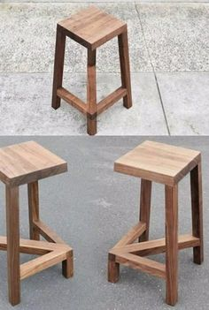 Modern pieces of furniture that create optical illusions