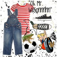 Cameron is going to be Dennis the Menace for Halloween