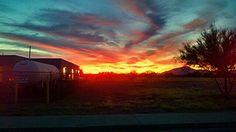 Sun Rise in Arizona!! Pretty!!