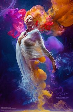Find Fantasy Fashion Model Inside Colorful Clouds stock images in HD and millions of other royalty-free stock photos, illustrations and vectors in the Shutterstock collection. Thousands of new, high-quality pictures added every day. Gif Bonito, Beau Gif, Colorful Clouds, Amazing Gifs, Beautiful Gif, Fantasy Kunst, Animation, Fantasy Girl, Fantasy Women