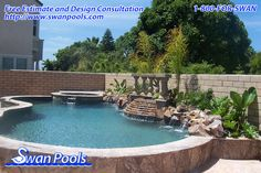 Stone - 3 Rivers.   Building Quality Swimming Pools Since 1954.  Quality. Dependable. Expertise. Tenure.      For free swimming pool and spa design consultation and estimate, visit  swanpools.com/Swan_Pools_Company/forms/swimming-pool-comp..., or contact us at 1-800-367-7926.