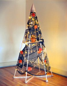 Happy Halloween from The Jubiltree Co.! | Halloween Holiday Tree | The Jubiltree Company, LLC  | Modern Wood Christmas Trees