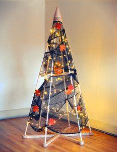 Happy Halloween from The Jubiltree Co.! | Halloween Holiday Tree | The Jubiltree Company, LLC  | Modern Wood Christmas Trees