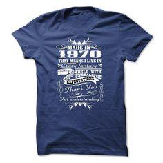 made in 1970 , thank for understand T Shirt, Hoodie, Sweatshirt