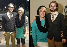 Boyfriend to Girlfriend Couple Halloween Costume Idea