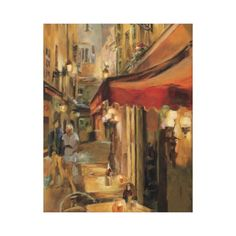 Paris Street Scene Canvas Print Wall Art Prints, Framed Prints, Canvas Prints, Painting Frames, Painting Prints, Canvas Frame, Canvas Art, Canvas Size, Vacation Pictures