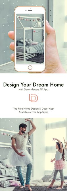 Design your dream home by yourself with DecorMatters Free App~