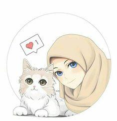 New ideas for wall paper couple muslim cartoon Cartoon Girl Images, Cute Cartoon Girl, Cartoon Art, Anime Girl Drawings, Anime Art Girl, Hijab Drawing, Islamic Cartoon, Hijab Cartoon, Islamic Girl