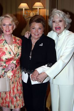 With Tippi Hedren, Esther Williams and Carol Channing in ( Image . Hollywood Party, Hooray For Hollywood, Golden Age Of Hollywood, Hollywood Stars, Shirley Booth, Ruth Gordon, Tippi Hedren, Carol Channing, Esther Williams
