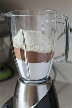mix in blender