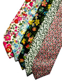 Pomp and Ceremony floral ties
