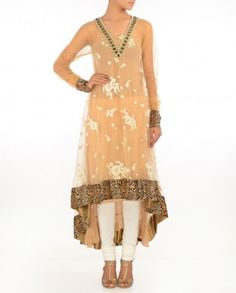 #Exclusivelyin, #IndianEthnicWear, #IndianWear, #Fashion, Beige Suit