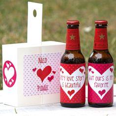 Kit Cerveza Fresquita Para San Valentín! Love story Anniversary Surprise, Anniversary Gifts, Ideas Aniversario, Bussines Ideas, Surprise Box, Star Wars Birthday, Original Gifts, Fiesta Party, Love Valentines