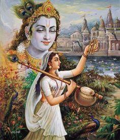 Meerabai.Meera bai(1498-1557) - the great Indian Saint and poet.