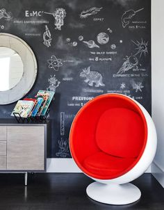 In University Park, Texas, a mother enlists a designer to create a bedroom around her 6-year-old son's interests.