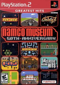 awesome Arcade Games | Namco Museum 50Th Anniv - PlayStation 2