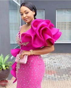 Beautiful African Fashion dresses - Hephzee by laviye African Lace Styles, African Lace Dresses, Latest African Fashion Dresses, African Print Fashion, Wedding Ideias, Lace Dress Styles, African Traditional Dresses, African Attire, Tea Length