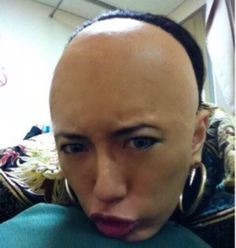 Shaved Hair Women, Shaved Undercut, Clipper Cut, Urban Outfitters Clothes, Bald Girl, Bald Women, Mullets, Shaving, Bangs