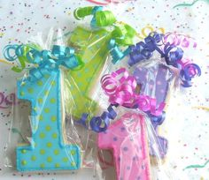 1st birthday favors