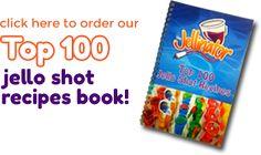 Blue Hawaiian Recipes - Blue Hawaiian Jello Shots | Jellinator | Jellinator