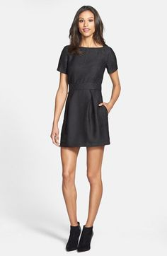 French Connection Crocodile Pattern Dress | Nordstrom