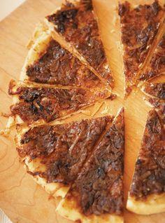 Recette de Ricardo de tarte Tatin à l'oignon